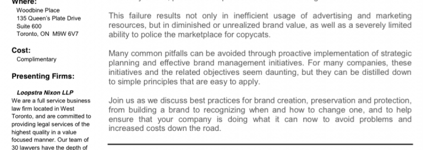How Strong is Your Brand? – John Holland Plutus Consulting Group